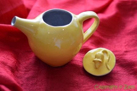 Rat-themed teapot